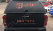 Isuzu D-Max part-wrapped for JRF Property Services