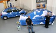 Citroen Xsara Picasso - wrapped by Totally Dynamic Central Scotland