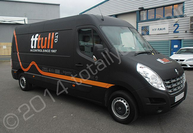 Totally Dynamic Renault Master Van Fully Wrapped In A