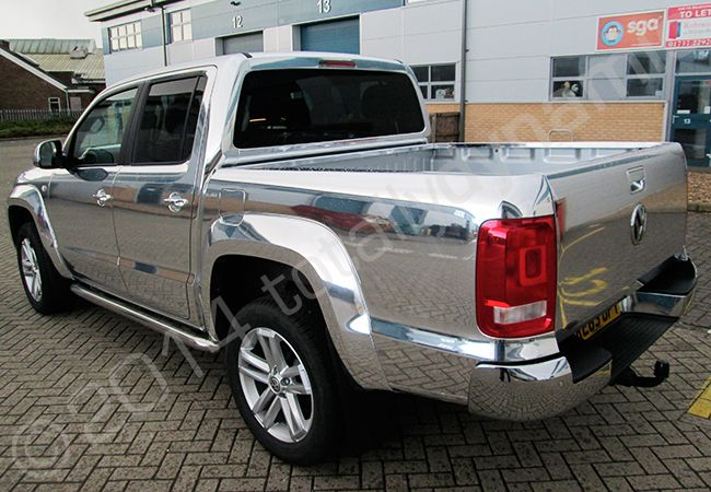 Totally Dynamic Vw Amarok Vinyl Wrapped In A Mirror
