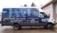 Fabcon Van Fleet - wrapped by Totally Dynamic Norwich