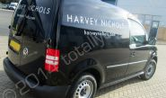 VW Caddy fully vinyl wrapped for Harvey Nichols by Totally Dynamic South London