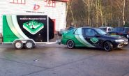 EMS - Vauxhall & Trailer - wrapped by Totally Dynamic Norwich