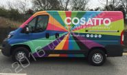 Peugeot Expert vinyl wrapped for Cosatto