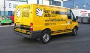 Ford Transit - designed and wrapped by Totally Dynamic North London