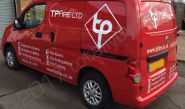 Nissan NV200 vinyl wrapped for T P Fire