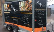 Catering Trailer fully vinyl wrapped for MBC Catering