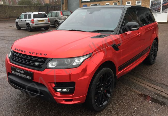 Totally Dynamic Range Rover Sport Autobiography With A