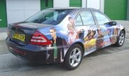 Mercedes C-Class - wrapped by Totally Dynamic North London