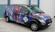 Mercedes Viano - designed and wrapped by Totally Dynamic North London