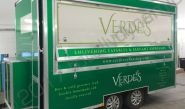 Catering Trailer vinyl wrapped for Verdes