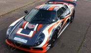 Noble M12 in a full motorsport vinyl car wrap