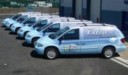 Chrysler Grand Voyager Fleet - wrapped by Totally Dynamic North London