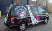 VW Transporter - designed and wrapped by Totally Dynamic Birmingham