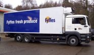 Lorry Fleet - wrapped by Totally Dynamic Norwich