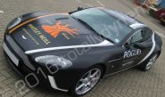 Aston Martin Vantage fully vinyl wrapped for Whitley Neill Gin/Pogues Irish Whiskey