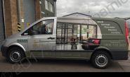Mercedes Vito part-wrap for Britannia Blinds