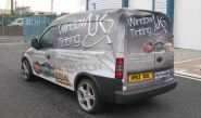 Vauxhall Combo - designed and wrapped by Totally Dynamic North London
