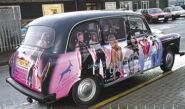 Gazelle Clothing Taxi  - wrapped by Totally Dynamic Norwich