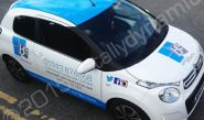 Citroen C1 vinyl wrapped for Bellissima Exclusive