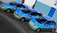 Chevrolet Kalos, Lacetti & Matiz - wrapped by Totally Dynamic North London