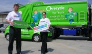 Recycle Vehicles - designed and wrapped by Totally Dynamic Leeds/Bradford