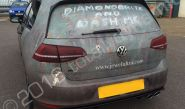 VW Golf fully vinyl wrapped for Diamond Brite